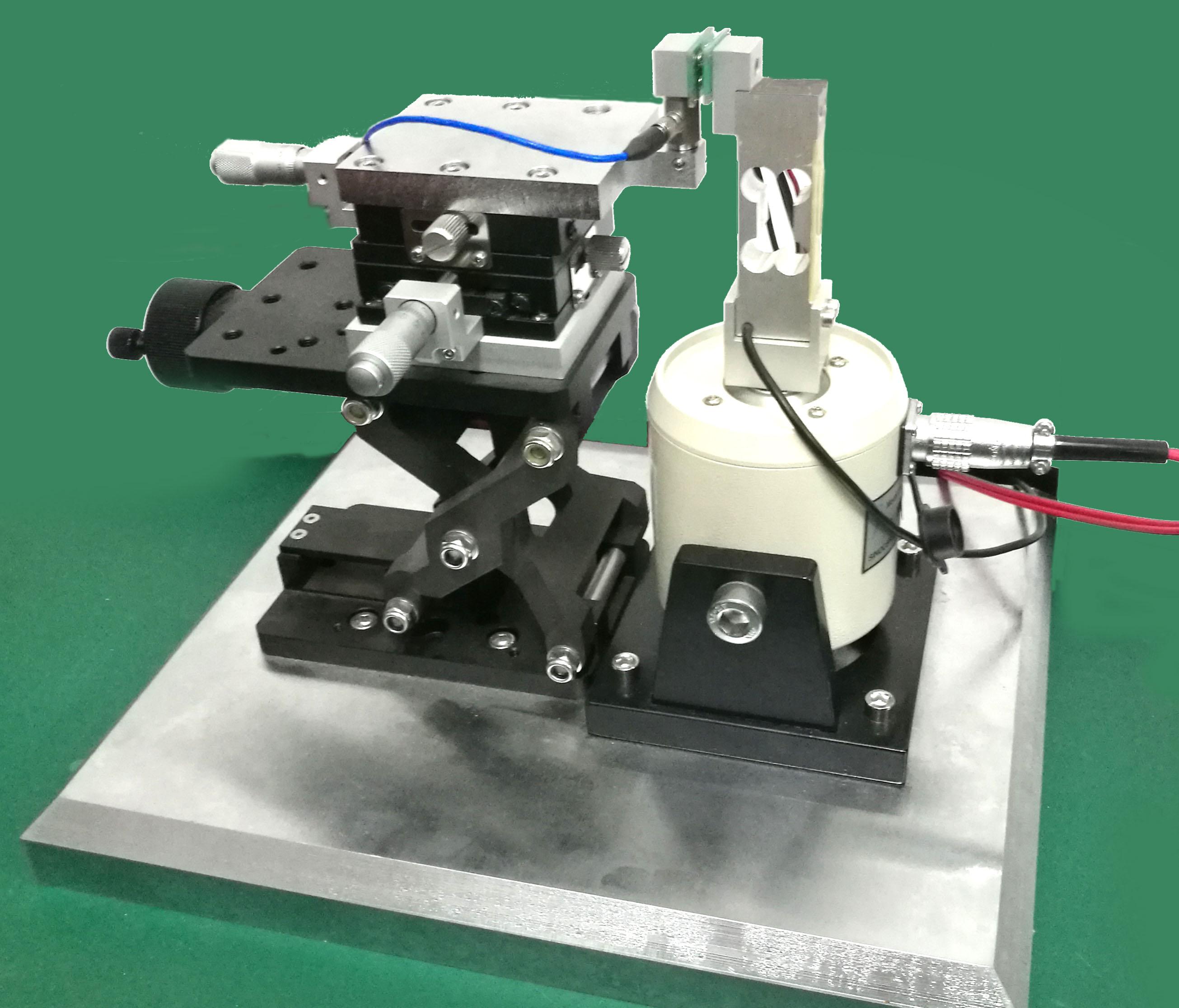 电接触材料微动磨损特性试验系统